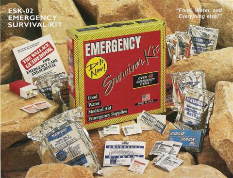 Emergency Survival Kit (1 Person)