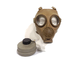 Belgian Gas Mask With Filter
