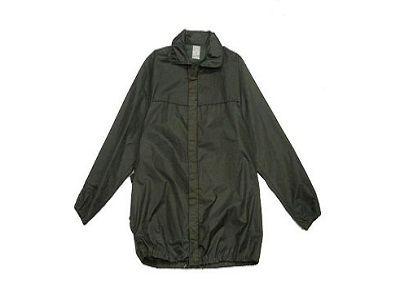 French Military Wind Breaker OD Rain Jacket