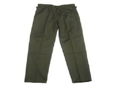 French GI Military OD Combat Trousers F-1