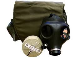 Israeli Adult Gas Mask with Carry Bag