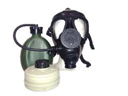 Israeli M-15 Gas Mask + Nato Filter + Hydration Canteen
