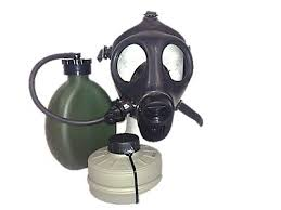 Israeli Youth Gas Mask with Nato Filter & Hydration Canteen