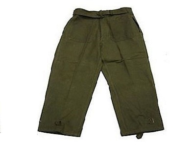 Military Wool Small Pants French GI