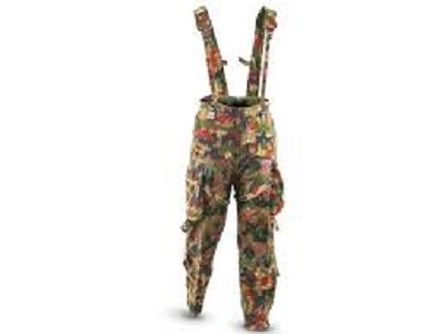 Swiss Alpenflage Camouflage Overall Pants