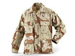U.S. G.I BDU 6 Color Desert Shirt