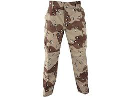 U.S. G.I. BDU 6 desert color pants