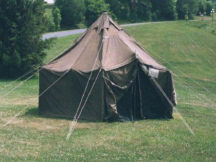 Vinyl General Purpose Small Tent Gp Small 17 6 X 17 6