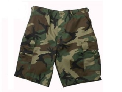 WoodLand Camo BDU Shorts