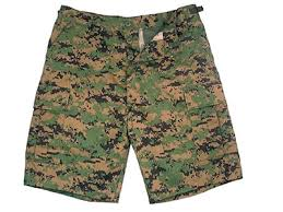 WoodLand Digital Camo BDU Shorts