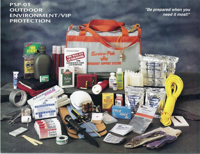 Outdoor Environment Protection Kit (1-2 People)