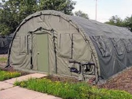Alaska Structure Air Force Shelter (Version 2 In Green)