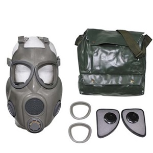 Czech M10 Gas Mask With Filter