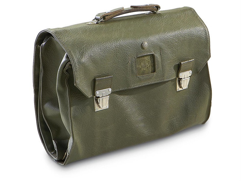 French Military Document Bag Vinyl