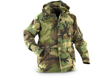 U.S. G.I. Gore-Tex Woodland Camouflage Parka -