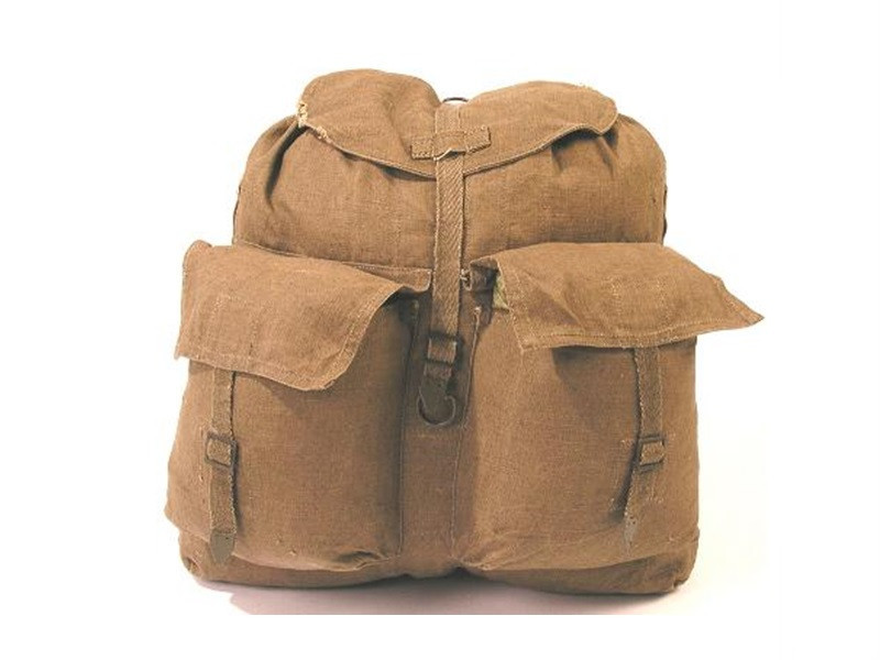 Hungarian Rucksack Canvas 2 Pockets Used