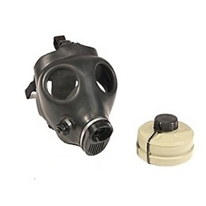 Israeli Gas Mask (Adult) with Filter (Model 4A1)