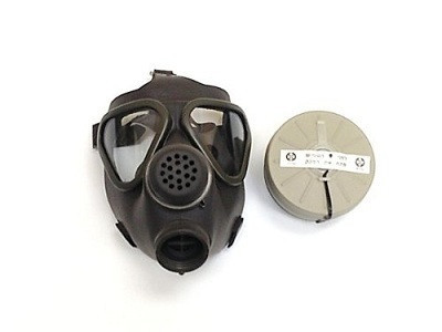 German M-65 Gas Mask W/ Filter