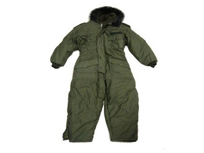 Israeli OD ECWS Insulated Coverall (New Manuf.)