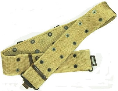 Israeli Cotton Pistol Belt