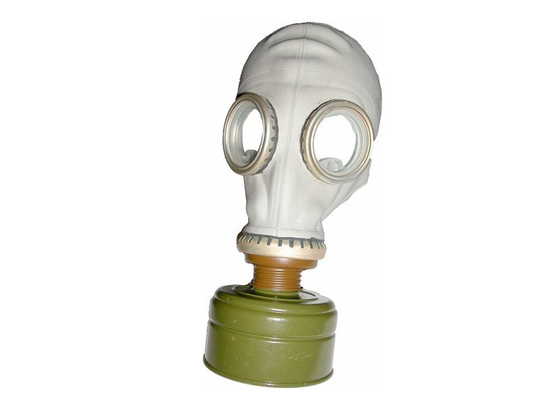 Russian NVA Gas Mask With Filter