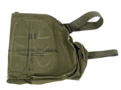U.S. G.I. Gas Mask Bag M-17 Oliver Drab