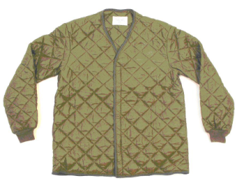 Belgian Military Quilted Jacket