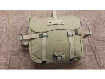 G.I. Israeli Khaki Canvas Shoulder Backpack